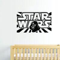 Star Wars Wall Decor Removable Vinyl Decal Kids Wall Sticker Home Art DIY Mural