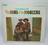 The Best Of The Sons Of The Pioneers LP, 1966, Cowboy Country VG+/NM RCA 1966