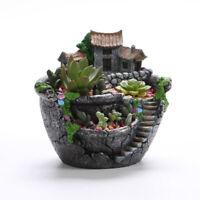 Succulent Plants Flower Pot Container Potted Holder Garden Planter Home Decor
