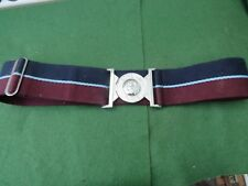 THE ROYAL AIR FORCE UNIFORM BELT WITH METAL BUCKLE SIZE 28 - 34""