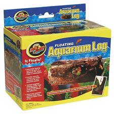 15 cm Small Floating Aquarium Log Hideaway ~ Frogs Turtles Crabs Fish Catfish
