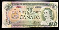 1969 $20 BANK OF CANADA PREFIX: WT - V.F COND!