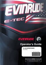 Evinrude Outboard Owners Manual 2006 75 & 90 HORSEPOWER Models PL, PX, SL