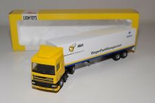 @. LION CAR DAF 95 TRUCK WITH TRAILER ABW WAGENPARKMANAGEMENT NEAR MINT BOXED