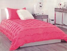 BOUCLAIR HOME SWEET ORIGAMIA COLLECTION SARITA CORAL QUILT COVER SET DOUBLE NEW