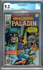 "Marvel Premiere #43 (1978) CGC 9.2 OW/W Pages  McGregor - Sutton ""Paladin"""