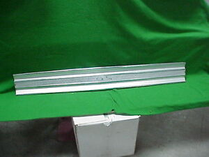 1968 68 Plymouth Fury III Trunk Lid Deck Chrome Finish Panel Aluminium Trim