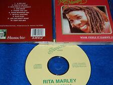 CD 1989 Who Feels It Knows Rita Marley 10 titres Shanachie