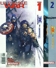 (2003) ULTIMATE WAR #1 2 3 4 COMPLETE MINI SERIES! ULTIMATES Vs ULTIMATE X-MEN!