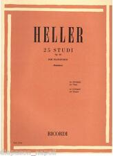 Heller: 25 Studi Op. 45 Per Pianoforte (Rattalino) - Ricordi