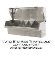 "Low Side Mount Truck Tool Box 65"" Lo-Side Toolbox. Movable Parts Tray, HeavyDuty"