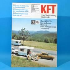 DDR KfT Kraftfahrzeugtechnik 4 1978 ARO Skoda 105/120 QEK Intercamp Bastei 30