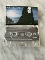 Dead Or Alive Mad, Bad And Dangerous To Know CASSETTE Tape 1986 Epic RARE! OOP!
