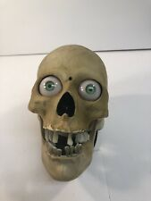 Gemmy Animated Scary Skull - Jaw Moves - Horror Sounds