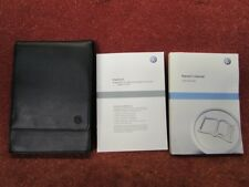 VW Golf 6 Cabriolet User Manual English Original Book Map