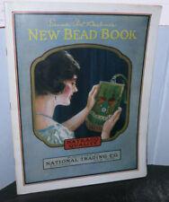 Emma Post Barbour's Bead Book Printed 1924 Scarce Bead Purses Bead Work