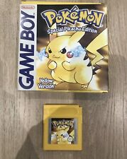 Pokemon Yellow Special Pikachu Edition Game - Nintendo Game Boy - With Box