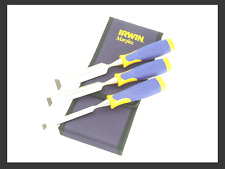 Irwin Marples MS500 Soft Touch Bevel Edge Chisel Set 3