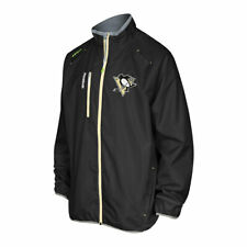 NEW Men's Reebok NHL Center Ice Pittsburgh Penguins Performance Jacket Size L