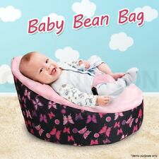 Pink Baby Toddler Bean Bag Kids Seat Pod Portable Resting Feeding Chair New