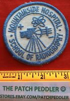 Patch Mountainside Hospital School Of Radiography New Jersey #3R