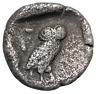 Attica. Athens. c. 404 BC. Drachm, 3.60g ,14mm. Obv: Head of Athena right,