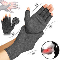 Arthritis Gloves Compression Support Hand Wrist Brace Relief Pain For Women Men
