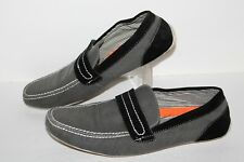 Franco Vanucci Victor Casual Driving Shoes, Charcoal/Black, Mens US Size 9