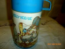 """Vtg Aladdin Holly Hobbie Thermos Dated 1980 """"Pre-owned"""""""