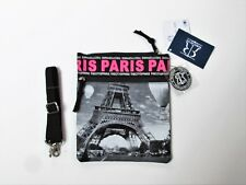 Robin Ruth Zippered Cross Body Bag City of Paris New With Tags