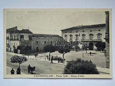 CASTROVILLARI Piazza Gallo animata Cosenza vecchia cartolina