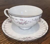 Vintage Porcelain China Gold Standard Tea Cup And Saucer Made In Japan