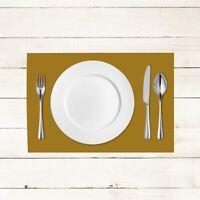 100x Tischset Gold aus Linclass® Airlaid 40 x 30 cm - Platzdeckchen