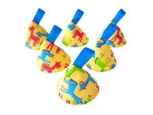Pee Pee Teepee x6, Wee Stop Cones Teepees / Boy Baby Shower / Yellow Horse Zebra