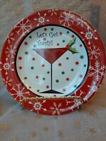 LET'S GET TOASTY appetizer plates (set of 4) by 222 Fifth