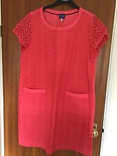 Brand New Without Labels Joules Summer Coral Dress - Size 18
