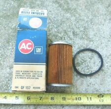 NEW AC FUEL FILTER & GASKET FOR 1962-67 FORD & MERCURY CARS 1963 1964 1965 1966
