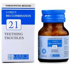 Homeopathic Lords Bio Combination No 21 Tablets 25 gm Improves Digestion Health