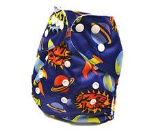 Boyish Universe Planet Modern Cloth Nappies Cloth Nappy Baby Pants Pilchers D44