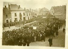 """""""Défilé des troupes aux obsèques de Mr MAGINOT 1932"""" Photo origin. G. DEVRED/ROL"""