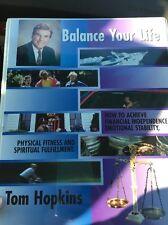 Tom Hopkins Balance Your Life Audio Book cassette Emotional Fulfillment Spirit