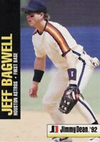 1992 Jimmy Dean Baseball #3 Jeff Bagwell Houston Astros