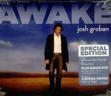 Josh Groban Awake Special Edition Bonus Songs & DVD Digipak
