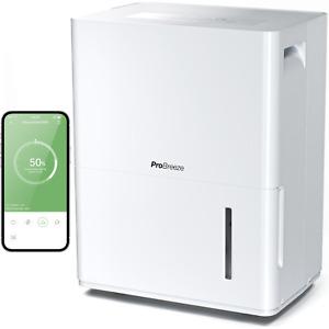 Pro Breeze Déshumidificateur Connecté Wifi Appli mobile gratuite 30L/jour