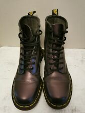 Dr Martens 8 Hole Purple. Air Wear Boots Leather