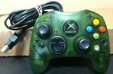 Original Xbox Controller Wired Halo Green S-Type Genuine Official Tested OEM