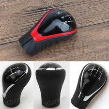 5 Speed Manual Gear Shift Knob For Toyota Corolla Verso RAV4 AYGO Black & Red UK