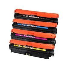 HP Laserjet CP5525 CP5525DN CP5525N CP5525XH CP 5525 5525N CARTRIDGE SET 4 TONER