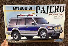 MITSUBISHI PAJERO Montero 1/24  MODEL KIT FUJIMI JAPAN