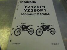 Vintage Yamaha Motorcycle YZ125P1, YZ250P1 Assembly Manual
